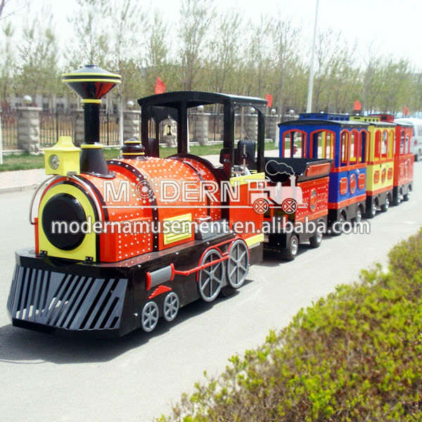 Miniature Lighted Christmas Train for Sale