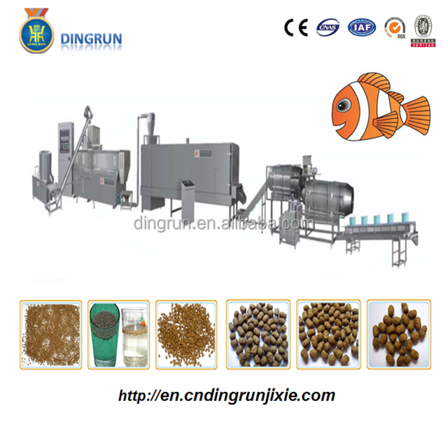 Floating fish feed pellet food making machine