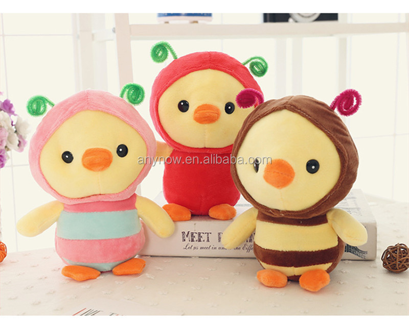 2017 hottest chicken animal plush toys stuffed doll for crane machine