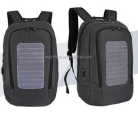 15.6 inch anti - theft computer backpack male solar USB charging double shoulder bag waterproof bag computer bag