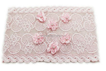 Wide lace baby headband,hairwrap
