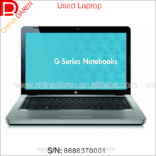 wholesale 15.6 inch Dual Core 2G DDR2 160G Hard Drive used notebook laptop with Webcam DVD