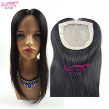 Top quality Jewish woman virgin cuticle aligned hair 5x5 silk base straight human hair toupee for women