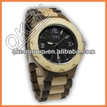 Wooden Wristwatch Made of Superior Woods