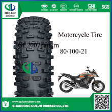 motorcycle and scooter tyre 80/100 21