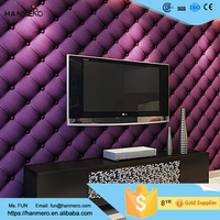 Cheap Free samples modern pure purple color wall paper wallpaper