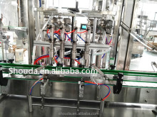 Food industry full automatic garlic oil bottle filling machine