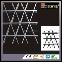 Low Price Suspended Ceiling Grid Open Cell Aluminum Grid Ceiling