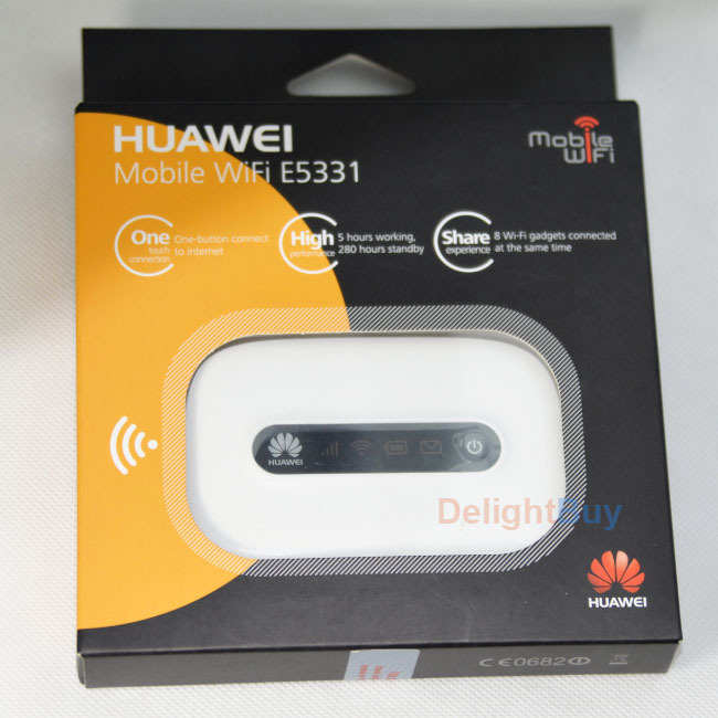 E5331 HUAWEI unlocked Wireless hotspot Hspa Pocket Wifi 21mbps 3G wifi Router 4G Router (HUAWEI LIsenced)