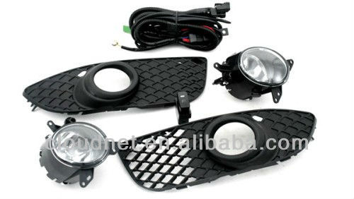 Front Fog Light & Grille Kit For Mitsubishi Lancer 2008 - 2010