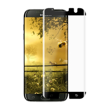2016 New Arrival For Samsung Galaxy s7 edge tempered glass screen protector / Full Cover 3D curved