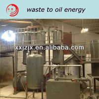 Above 95% oil yield used motor oil recycling plant