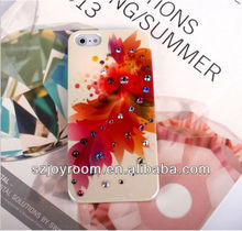 Luxurious stype diamond hard cover for apple iphone 5 5G