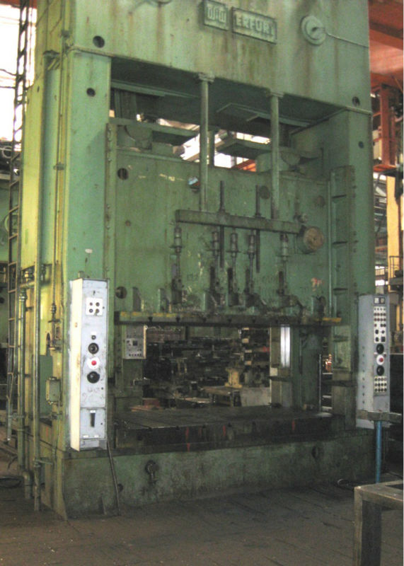 4 crankshaft mechanical press Erfurt PKZV III 500