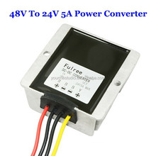 Good Quality Waterproof DC 48V To 24V 5A Power Converter