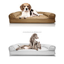 Coffee Soft Beds For Big Dogs Custom Pet Bed