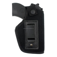 Concealed Universal Neoprene Belt Holster Soft Gun Case with Waist Hook