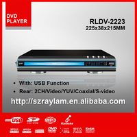 RLDV-2223 Small Size DVD Player with USB for All Region