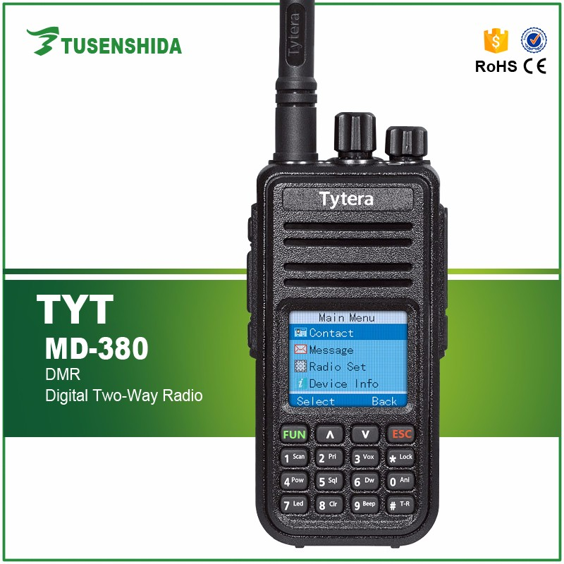 Walkie Talkie UHF 2 Way Radio Tytera Dmr TYT-MD380