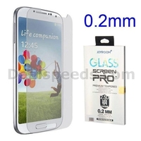 Joyroom 0.2mm 2.5 Degree Arc Incision Shatterproof Tempered Glass Guard Film Screen Protector for Samsung Galaxy S4