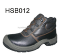 construction site hit and puncture resistant safety type heavy work shoes