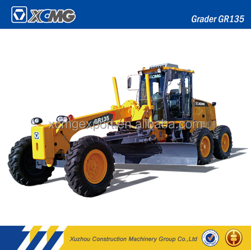 XCMG road tractor grader with spare blade