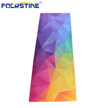 2017 Eco-Friendly Printed Natural Rubber Suede Yoga Mats