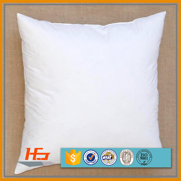 Square Shape Sublimation Blank Throw Wholesale White Pillow Case
