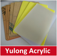 6mm Double sided Frosted Acrylic Sheet Plastic Panel