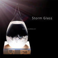 size-customized durable quality-guaranteed 3 tracks sliding window weather forecast bottle storms drops hourglass bottle