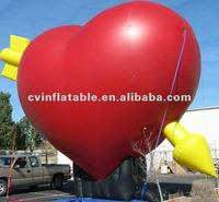 Giant Inflatable Red Heart Balloon A12001