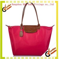 China alibaba foldable nylon tote bag,foldable zipper tote bag,ripstop nylon tote bags