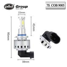 Guangzhou pd auto headlights OEM & OEM accpet 7s 25w cob car led headlight bulbs 9005 9006 for universal motorcycle