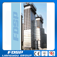 FDSP high efficiency continuous grain dryer flow drying tower system