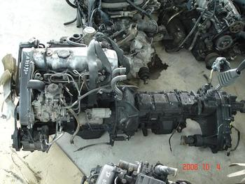 engine-D4BH used for Hyundai Galloper Turbo Intercooler