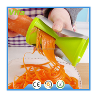 wholesales high quality Eco-friendly spiral vegetable slicer,mini plastic vegetable slicer