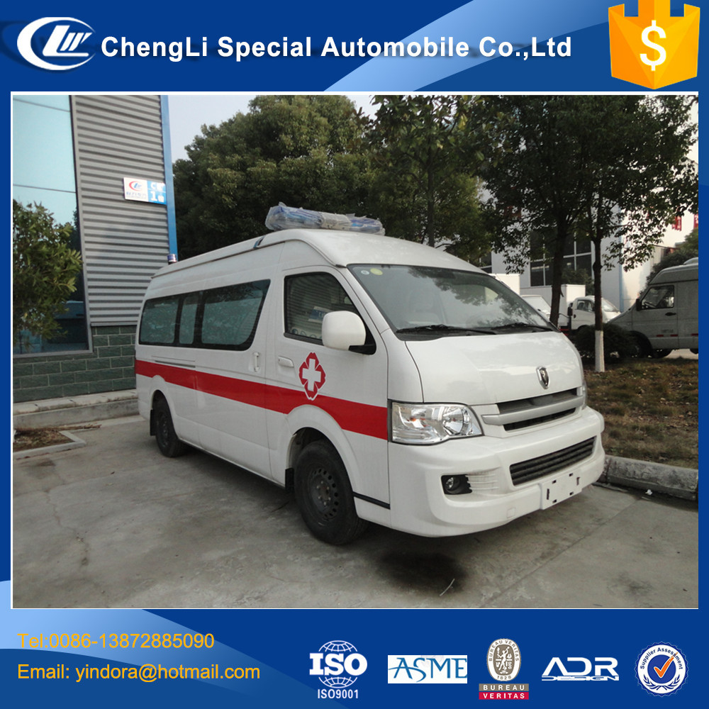 Cheap price Jingbei First aid Ambulance Vehicle for sale
