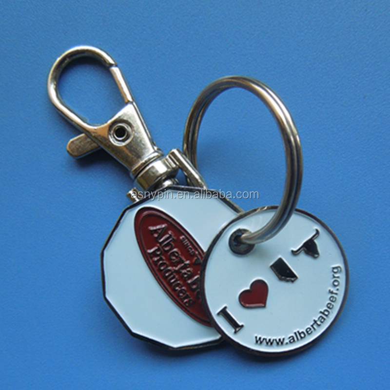 Russia Ice Hockey sports custom logo metal key chain