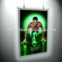 portable and beautiful led window displayed lightbox sign