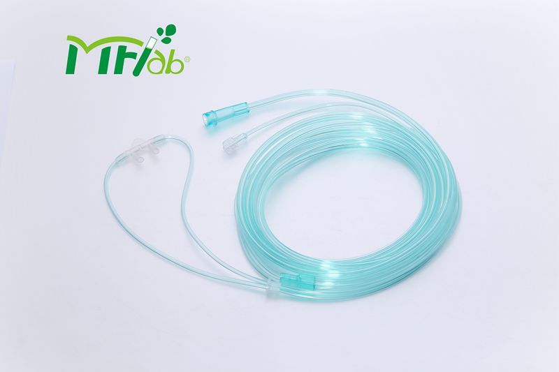 Medical Disposable Soft Adult O2+CO2 Sampling Cannula with CE & ISO