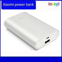 Original xiaomi bank 10000mAh Mobile Backup powerbank 10000 bateria externa Universal Charger for cellphone Protable power