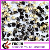 high quality Crystal Elements 10mm Foiled Rivoli Stones