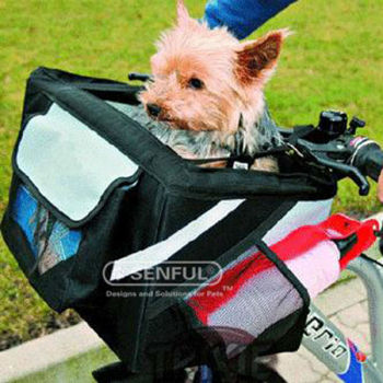 Bicycle bag dog bicycle carrier bag pet bicycle bag