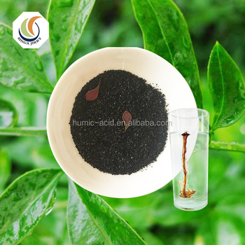 100% Water Soluble Lignite Humic Acid Potassium Humate Shiny Powder