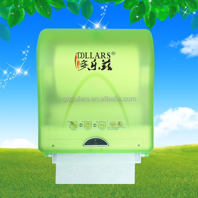 plastic sensor touchless paper towel dispensers wall mounted auto cutting sensor towel dispensers automatic cut infrared