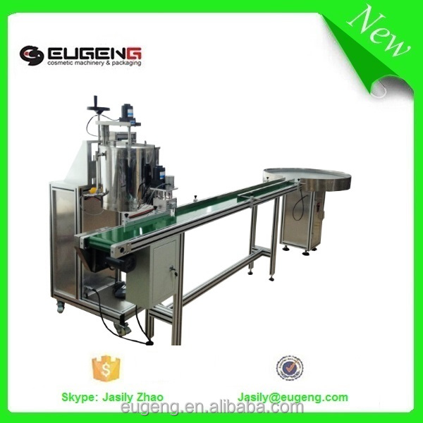 cosmetics lipstick filling machine with heating and mixing tank
