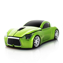 2.4GHz Wireless Racing Car Shaped Optical USB Mouse 3D Buttons 1000 DPI/CPI Computer Gaming Mouse