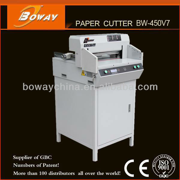 18 Years CE ISO Boway Electric BW-450V7 Used Paper Cutter for Machinery Sales