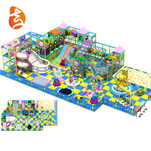 Factory Supply Commercial Plastic Children Indoor Playground Equipment
