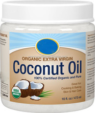 100% Certified Organic and Pure Coconut Oil Face Cream For Skin Care